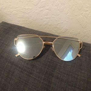 Mirror retro fashion sunglasses
